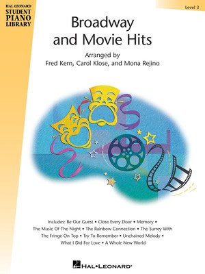 Hal Leonard Student Piano Library Broadway and Movie Hits Level 3