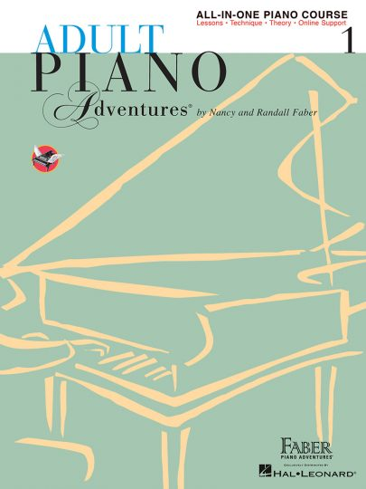 Adult piano adventures all in one